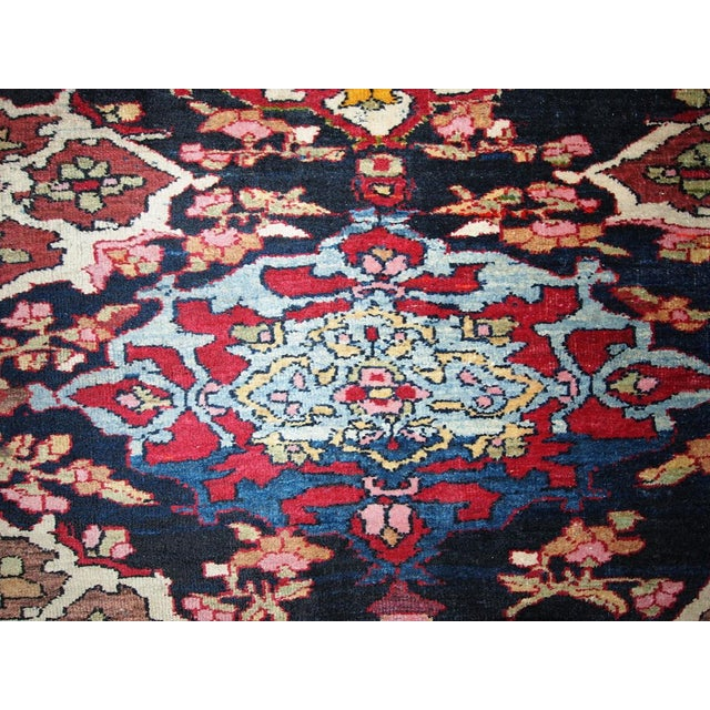 Antique Persian Isfahan Rug - 4′3″ × 6′ - Image 4 of 7