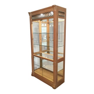 Lexington Lighted Curio Cabinet
