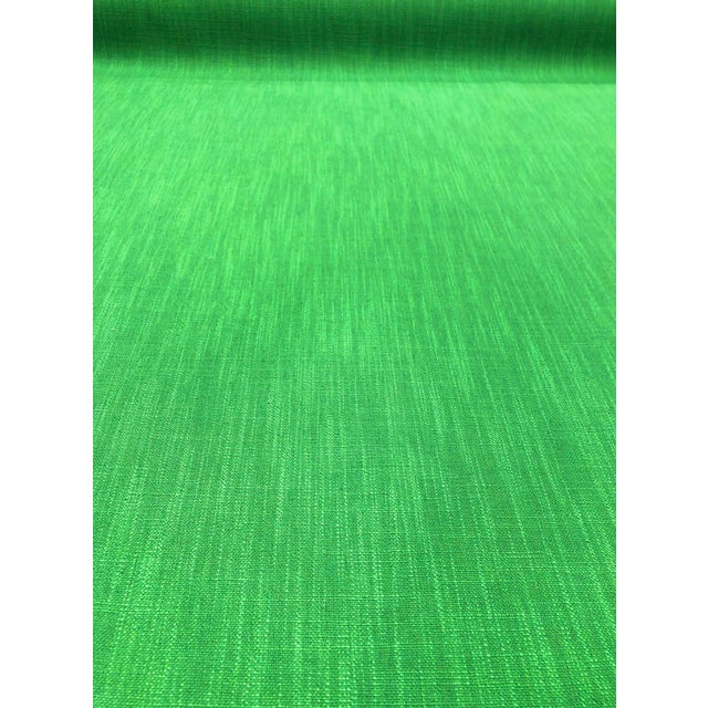 This solid from Kate Spade is so fun! The neon green color is eccentric but usable. The weave of the fabric has slight...