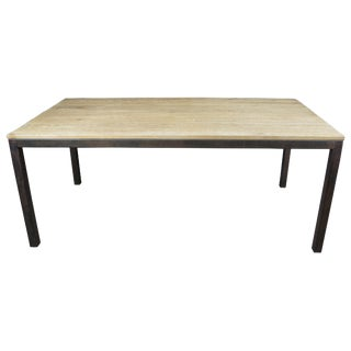 "Minimalist Arhaus Furniture Palmer Dining Table - 72"" For Sale"