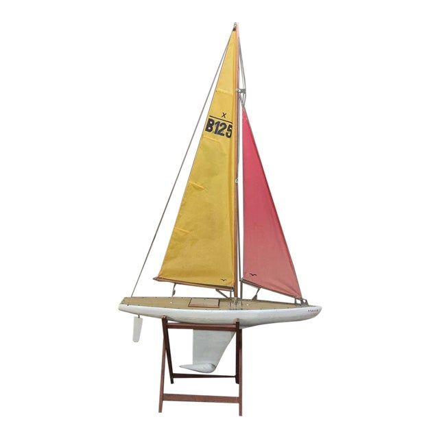 Mid-Century Scale 12 Meter Racing Yacht For Sale
