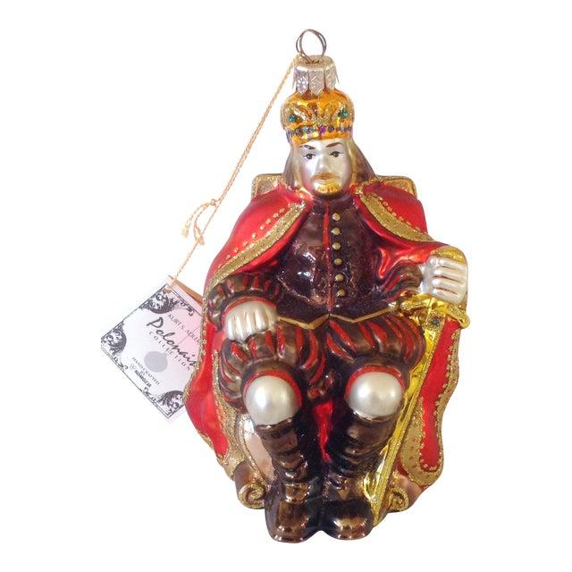Kurt Adler Polonaise King Ornament For Sale