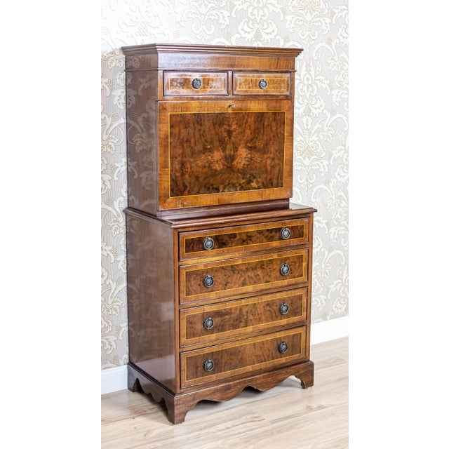 Late 19th Century Late 19th-Century Secretary Desk For Sale - Image 5 of 13