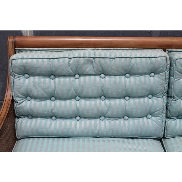 "Mid Century Neoclassical ""Hamptons"" Sofa - Image 7 of 11"