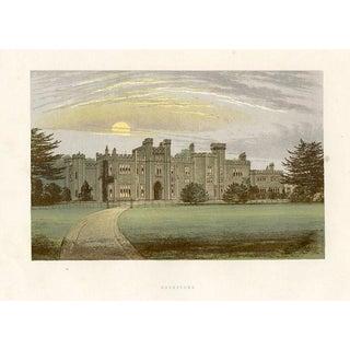 1880s English Manor Home Print, Garnstone