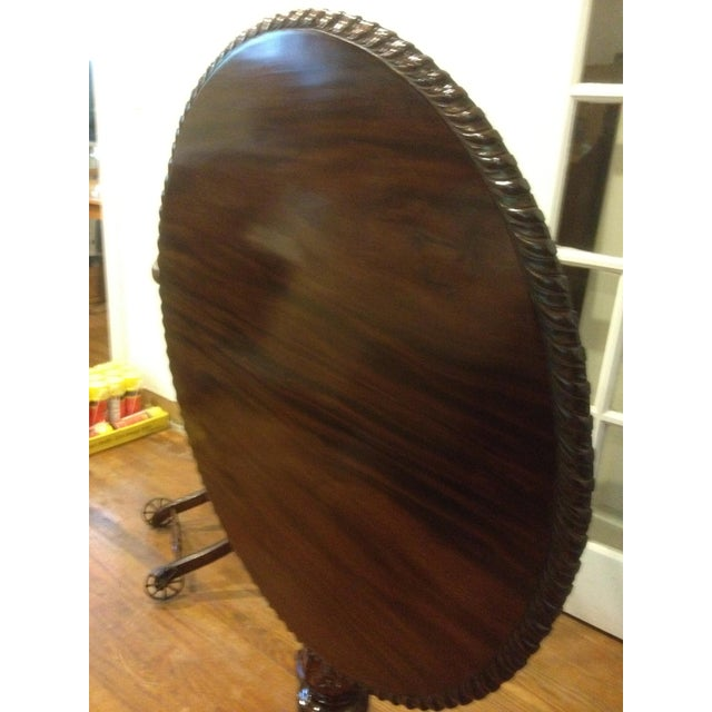 Georgian Rosewood Tilt-Top Pedestal Table - Image 2 of 11