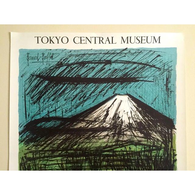 "This Bernard Buffet rare out of print vintage 1980 French lithograph print "" Mourlot Au Japon "" Tokyo Central Museum..."