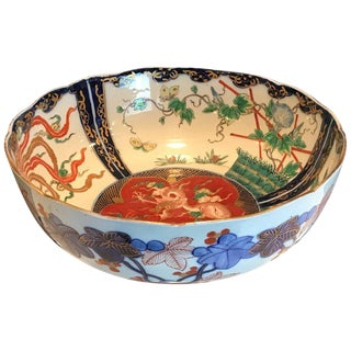 Chinese Imari Centre Bowl For Sale