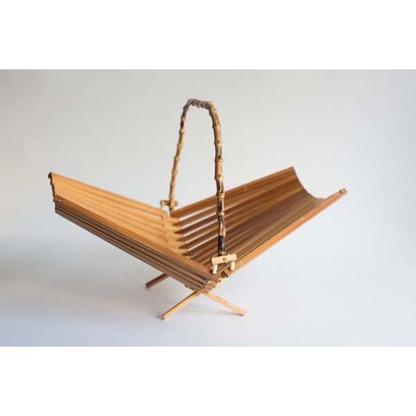Folding Fan Fruit Basket For Sale - Image 4 of 4