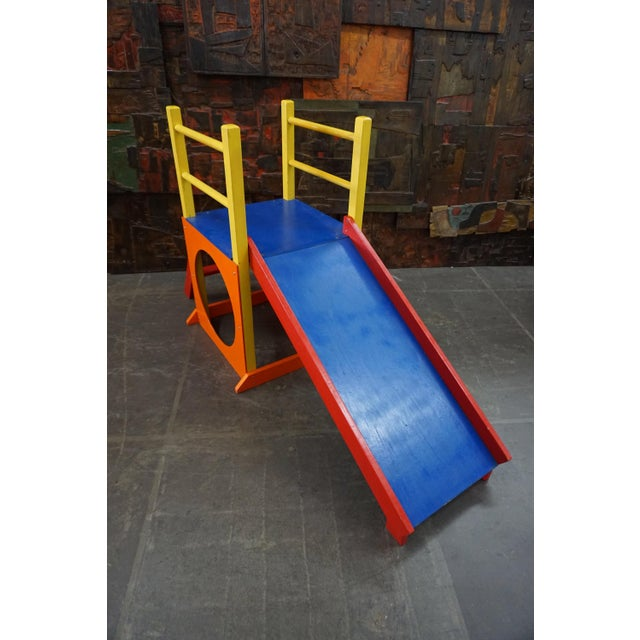 Creative Playthings Childrens Slide by Creative Playthings For Sale - Image 4 of 6