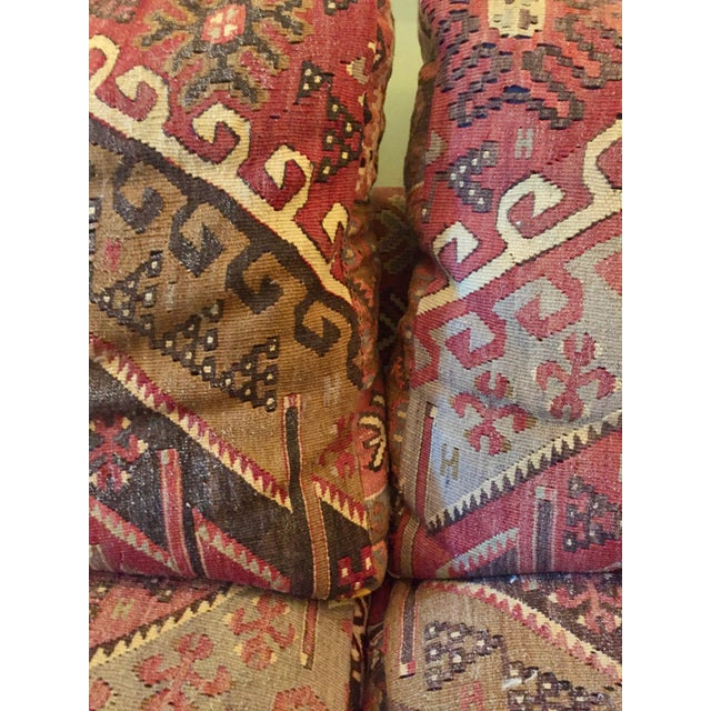 George Smith 8-Foot Kilim Sofa For Sale In New York - Image 6 of 12