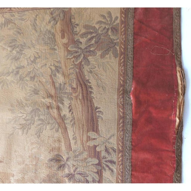 Tapestry Wall Hanging, circa 1920s from a Historic South Florida Home For Sale In Miami - Image 6 of 11
