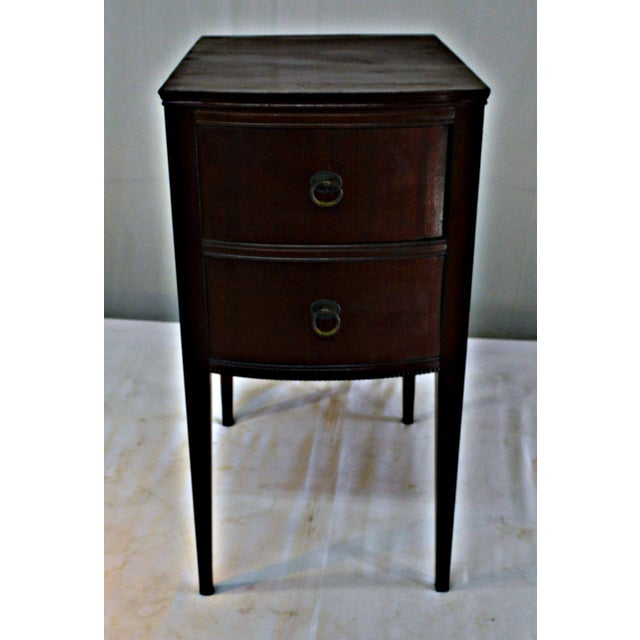 Traditional Antique Flint & Horner Nightstand For Sale - Image 3 of 8