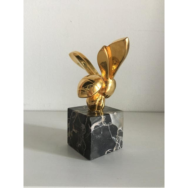 1970s Vintage G. Lachaise Brass Bee Sculpture For Sale - Image 4 of 12