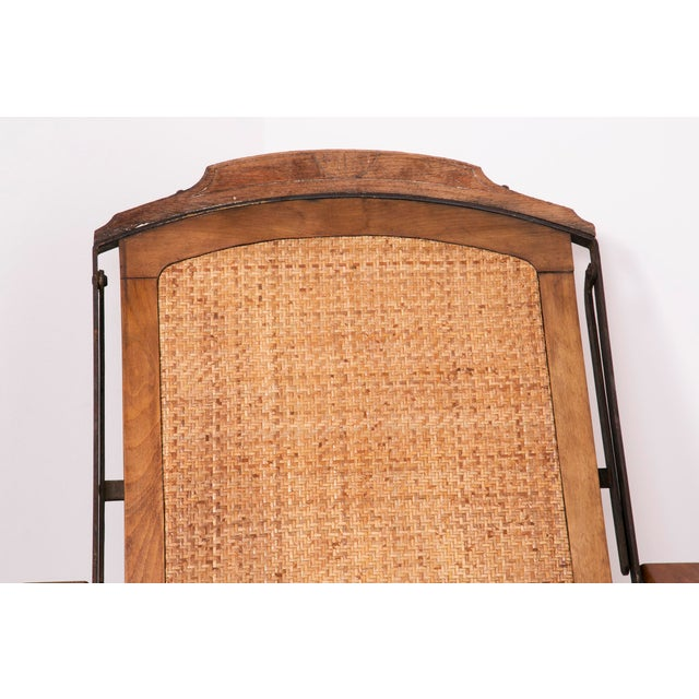 1900s English Folding Campaign Chair For Sale - Image 4 of 5