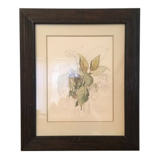 Mary Lou Goertzen Botanical Lithograph Print For Sale