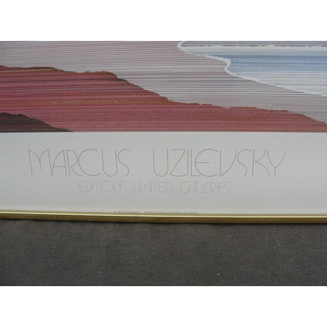 1983 Marcus Uzilevski Editions Limited Print For Sale - Image 4 of 7