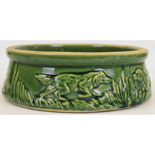 steiff dogs with dog bowl set of 3 chairish