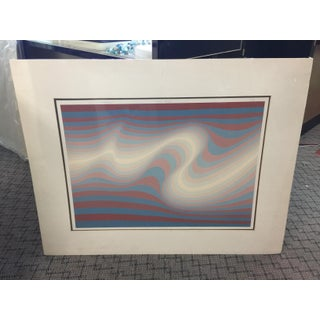 Roy Ahlgren Big Sur Lithograph Signed Limited Edition For Sale
