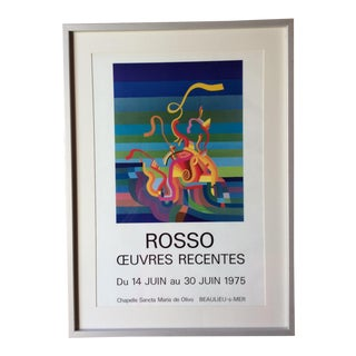 Rosso Vintage Poster