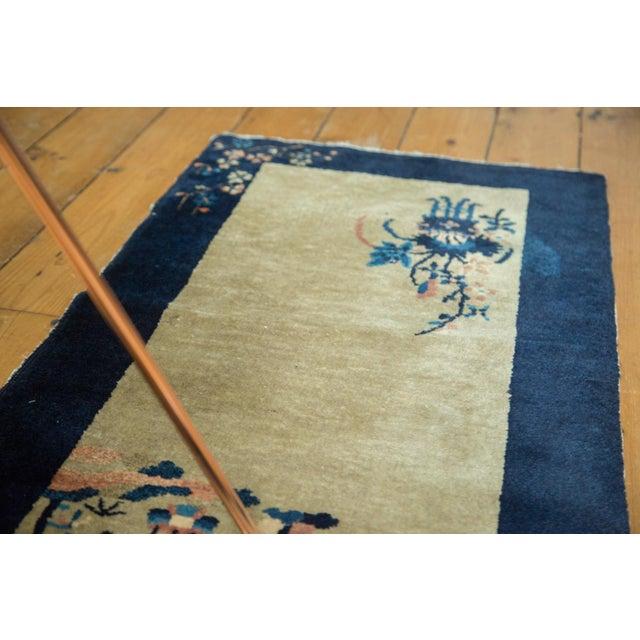 """Vintage Peking Rug Runner - 2' x 3'11"""" - Image 2 of 8"""