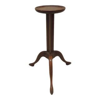 Antique Biedermeier Style Pedestal Table For Sale