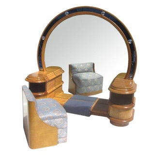1930s Chinese Art Deco Vanity Set For Sale