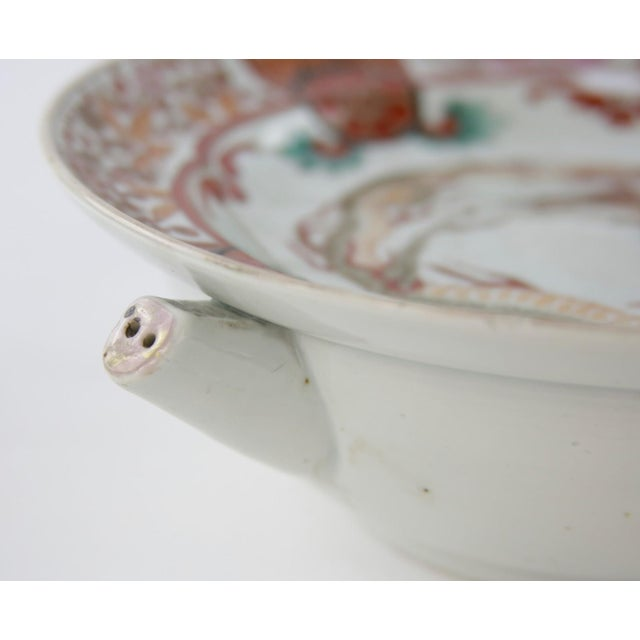 Antique Chinese Lidded Warming Dish - Image 6 of 9