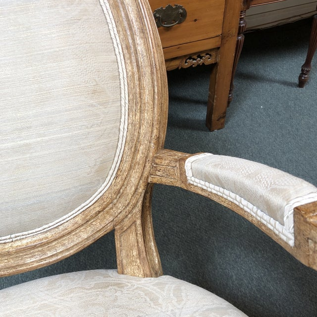 New Ovale Arm Chair by Hamilton Collection For Sale - Image 11 of 13