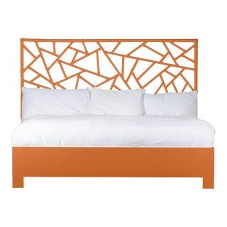 Tiffany Bed King - Orange For Sale