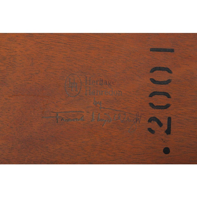 """Frank Lloyd Wright """"Taliesin"""" Game Table With Four Chairs For Sale - Image 12 of 13"""