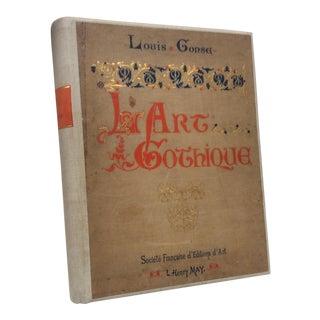Large Antique Gothique Book For Sale