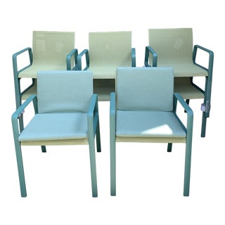 Modern Kettal Dining Chairs- Set of 8 For Sale