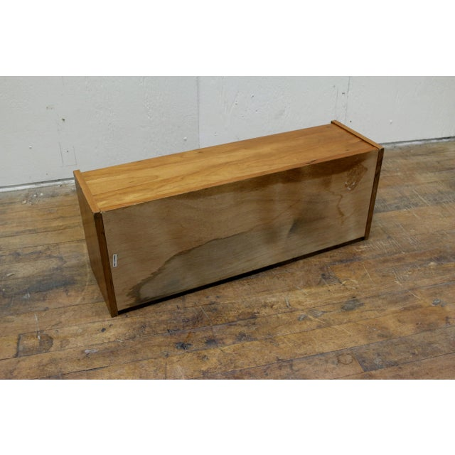 Wood Mid Century Pedersen & Hansen Danish Desk Caddy Letter Tray Organizer 1960s For Sale - Image 7 of 8