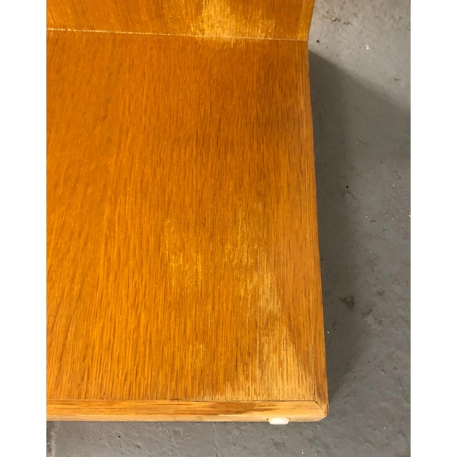 "Wood Contemporary Roman Thomas ""Plateau"" Coffee Table For Sale - Image 7 of 11"