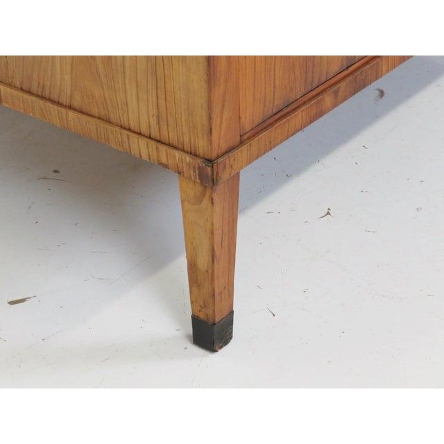19th C. Biedermeier Cylinder Desk - Image 2 of 10