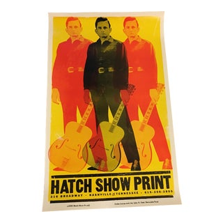 Johnny Cash Hatch Show Print Poster