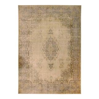 1940s Persian Area Rug Kerman Design For Sale