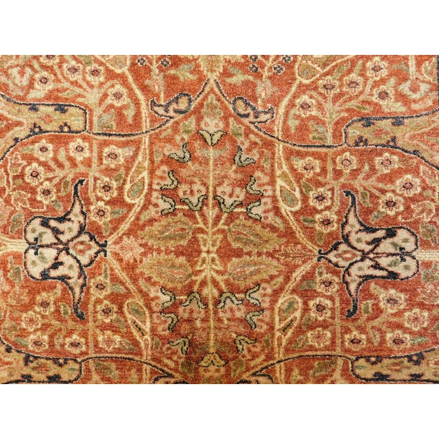 Handmade Indian Rug - 8' x 10' For Sale In Los Angeles - Image 6 of 10