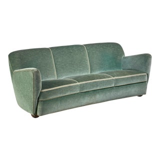 Georg Kofoed Three-Seater Sofa, Denmark, 1940s For Sale