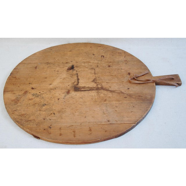 Round French Harvest Bread Cheese Board - Image 9 of 9