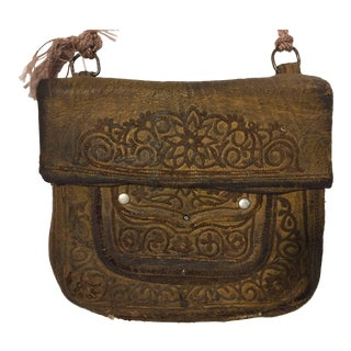 African Moroccan Shoulder Bag For Sale