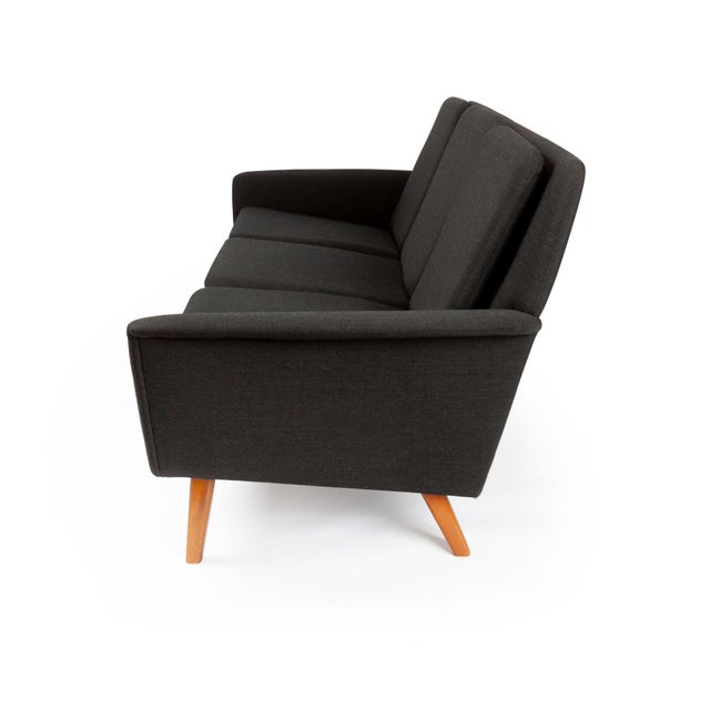 Danish Modern Dux Danish Modern Black Sofa & Lounge Chair - 2 Pc. Set For Sale - Image 3 of 13