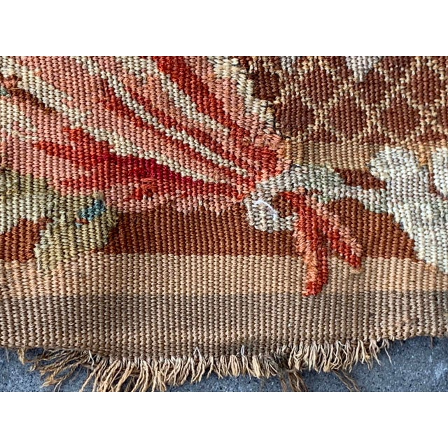 Late 19th Century French Des Bois Tapestry- 6 X 6' For Sale - Image 11 of 13