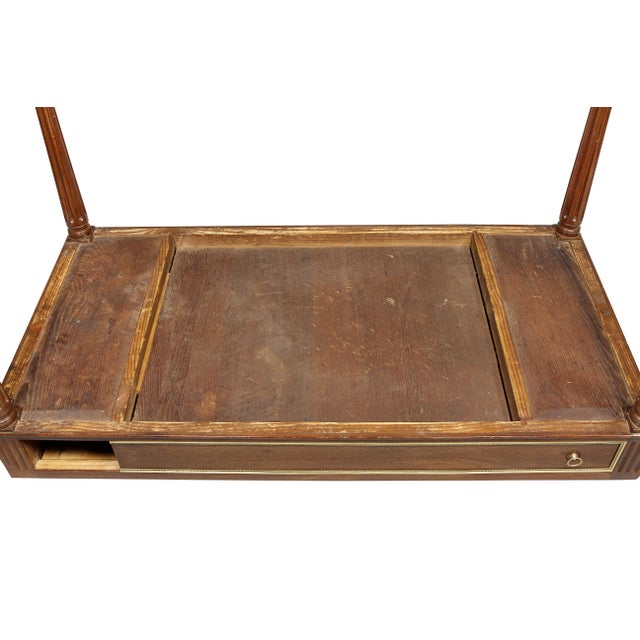 Louis XVI Mahogany and Bronze Mounted Tric Trac Table For Sale - Image 11 of 13