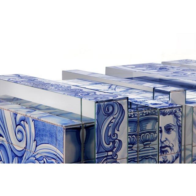 Not Yet Made - Made To Order Covet Paris Heritage Blue Sideboard For Sale - Image 5 of 6