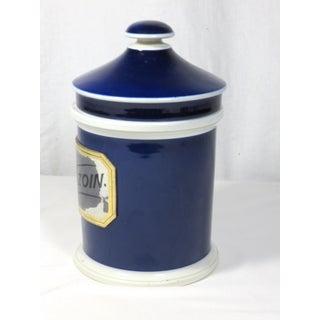 1900 Antique Porcelain Apothecary Jar Preview