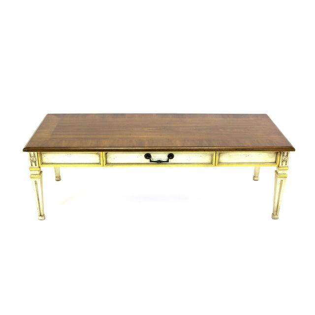 Mid-Century Walnut Heritage Coffee Table - Image 8 of 8