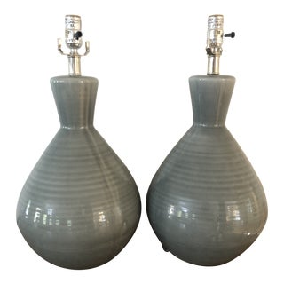 """Jamie Young Company """"Ash"""" Table Lamps - a Pair For Sale"""