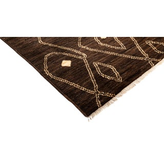 Brown Moroccan Tribal Rug Preview